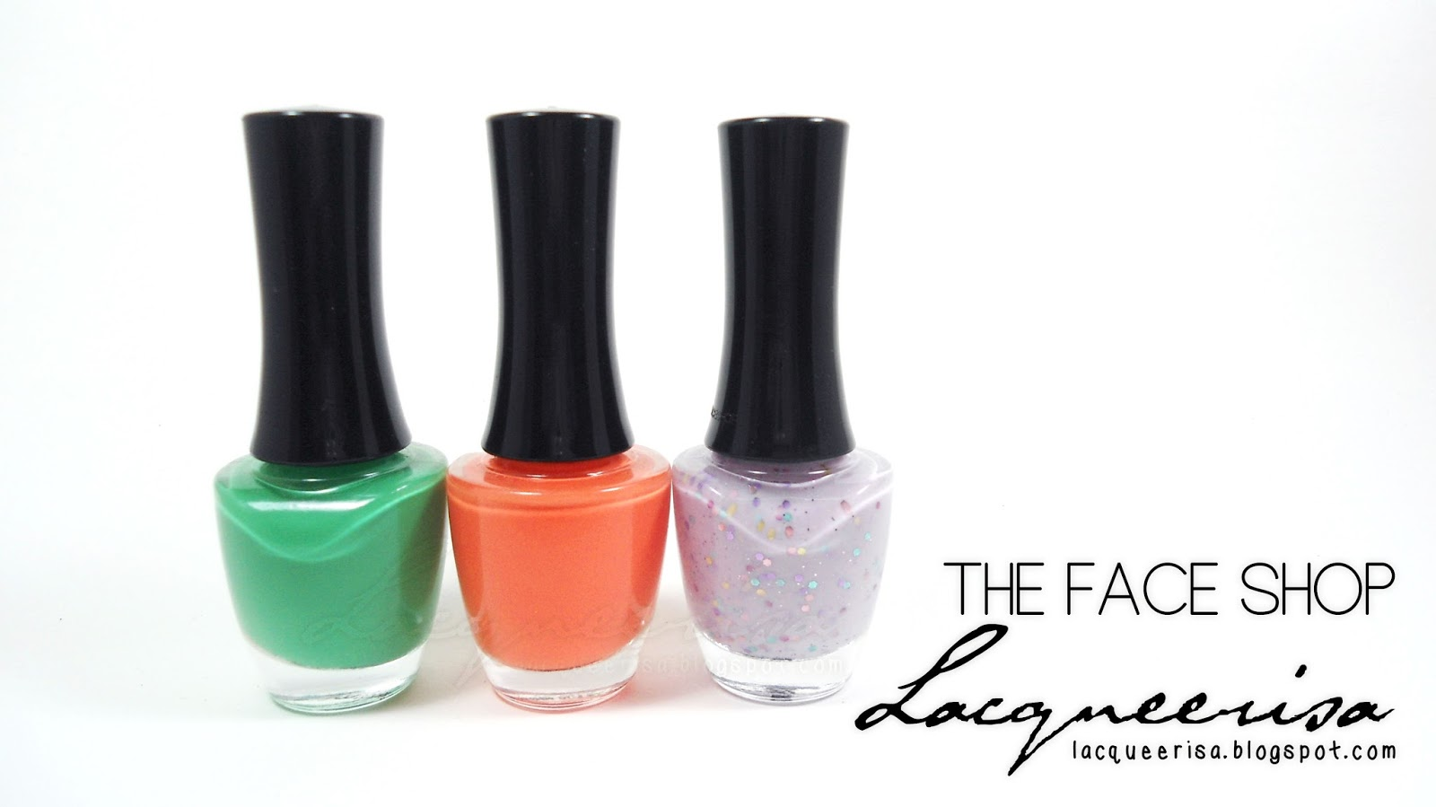 The Face Shop Nail Polishes