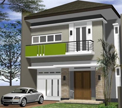 contoh desain rumah minimalis 2 lantai | desain rumah