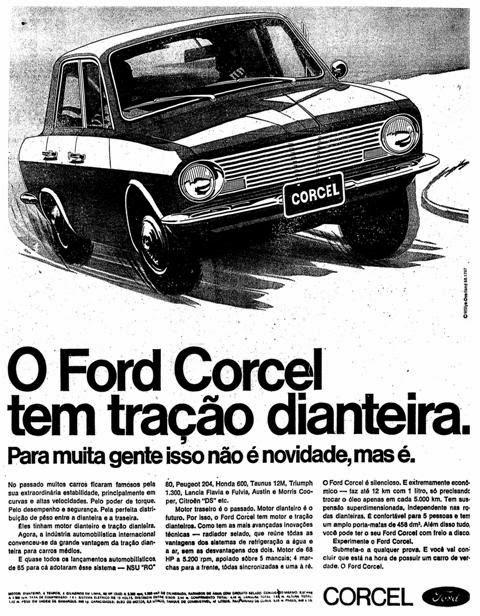 Resultado de imagem para Corcel 1968