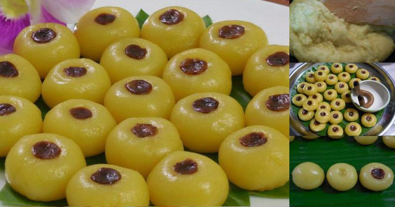 สูตรและวิธีทำขนมเสน่ห์จันทร์ 1ใน9 ขนมมงคลของไทย