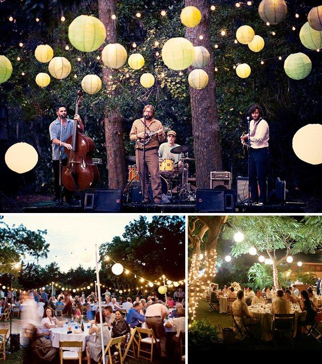 .: Backyard Wedding Ideas