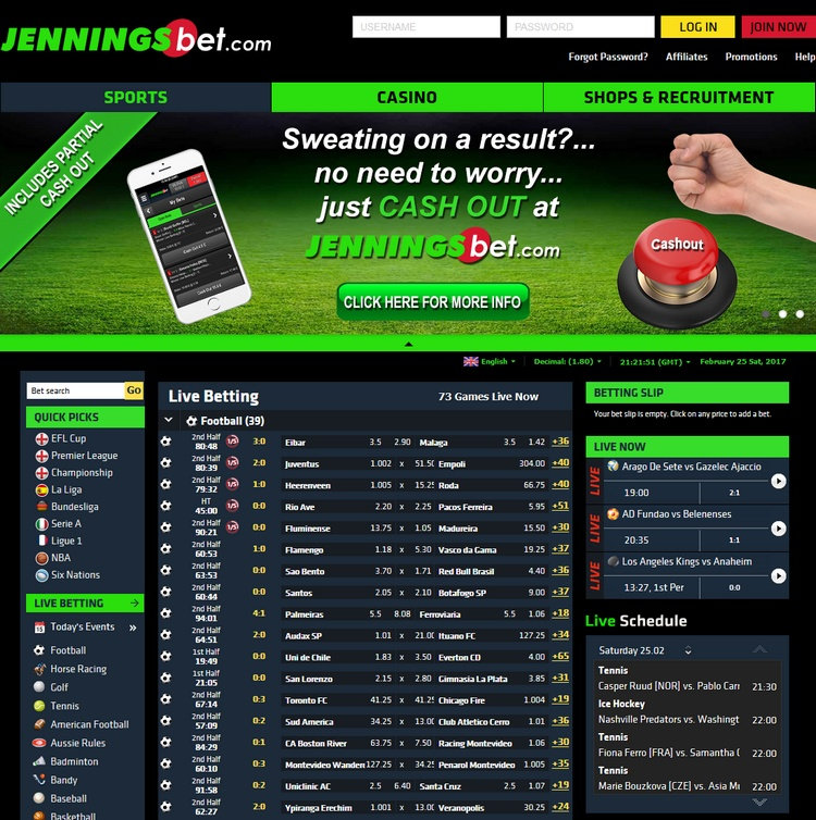 JenningsBet Offers