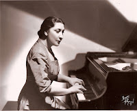 Felicja Blumental at the piano