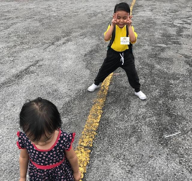 Mendidik anak dari kecil