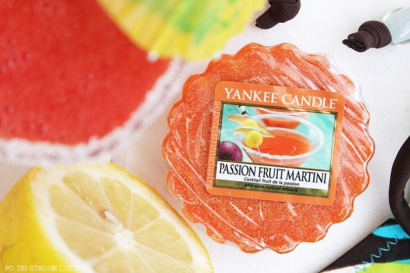 Yankee Candle Passion Fruit Martini - owocowy koktajl
