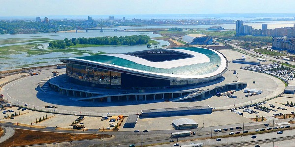 Stadion Kazan Arena Fifa Word Cup 2018