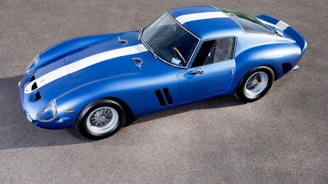 Ferrari 250 GTO 1962 - Participó en diferentes competiciones de la época