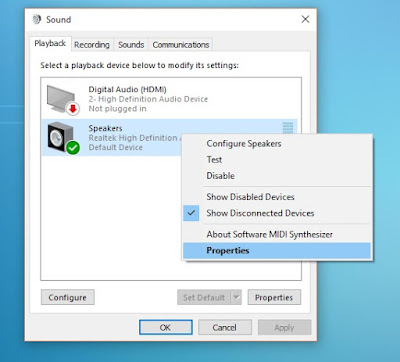 Windows 10 low volume issue solution