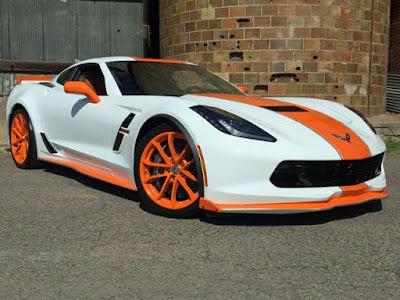 Custom 2017 Corvette Grand Sport For Sale Near Denver