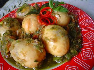 RESEP LOMBOK IJO TELUR PUYUH , Resep masakan indonesia