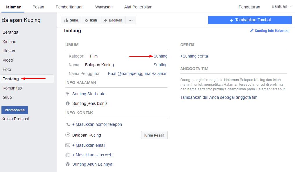 Cara Membuat Sendiri Perasaan/Aktivitas Baru di Facebook