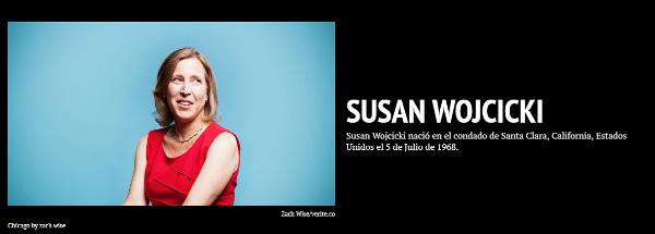 Susan Wojcicki Timeline