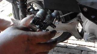 Gambar kedudukan piston brek