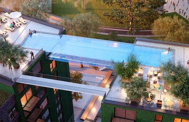 Garden sky pool
