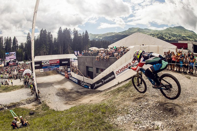 2016 Lenzerheide UCI World Cup Downhill: Results
