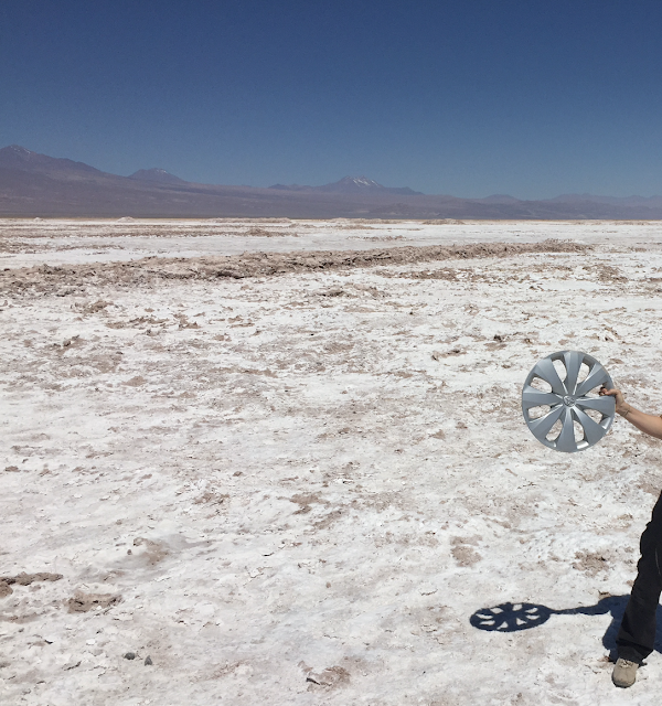 Hacia la Laguna Chaxa Atacama