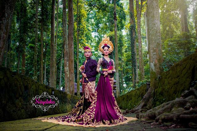 sewa kebaya gaun bridal murah bali paket foto prewedding