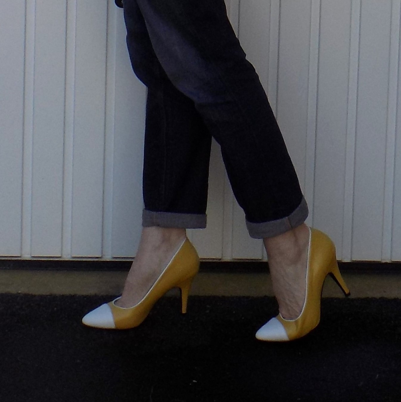 Yull Chartwell mustard yellow shoes