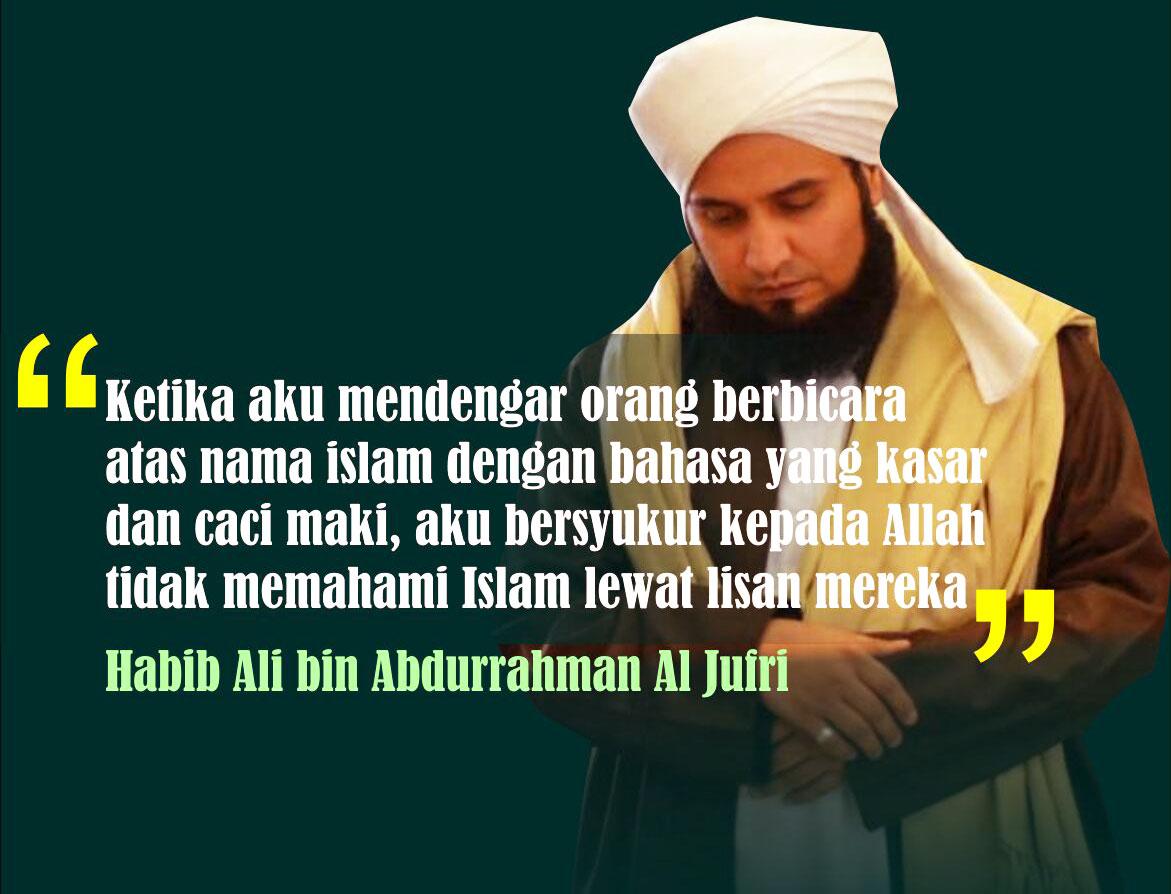 Habib Ali Al Jufri Mendoakan Masuk Sorga Kepada Pencacinya
