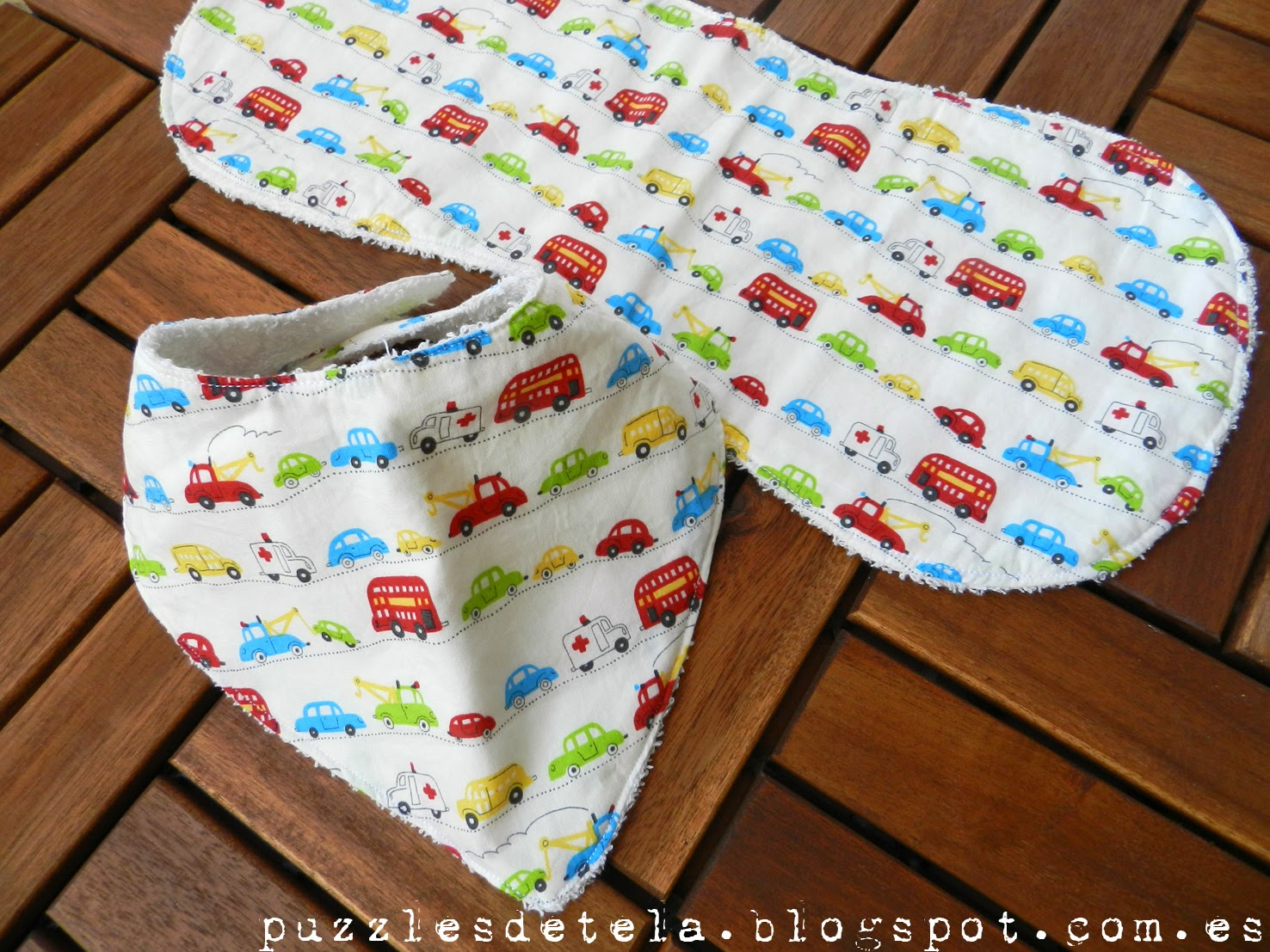 Puzzles de tela, regalos para bebés, babero bandolera, toalla de lactancia, patchwork,  hecho a mano, handmade