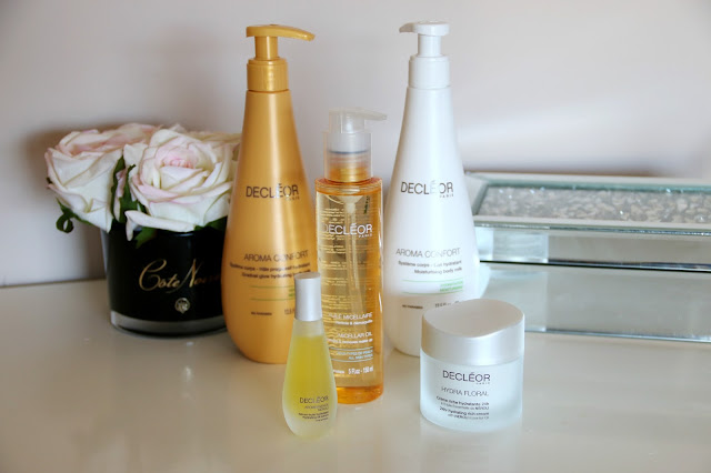 Exclusive QVC offer: Decléor 4 Piece Skin in Bloom Hydrating Collection