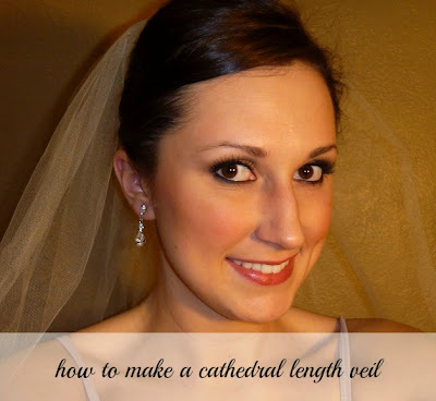Making Your Own Wedding Makeup : Beauty by Arielle: How to Make Your Own Tulle Veil