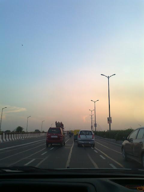 Delhi-Noida Road