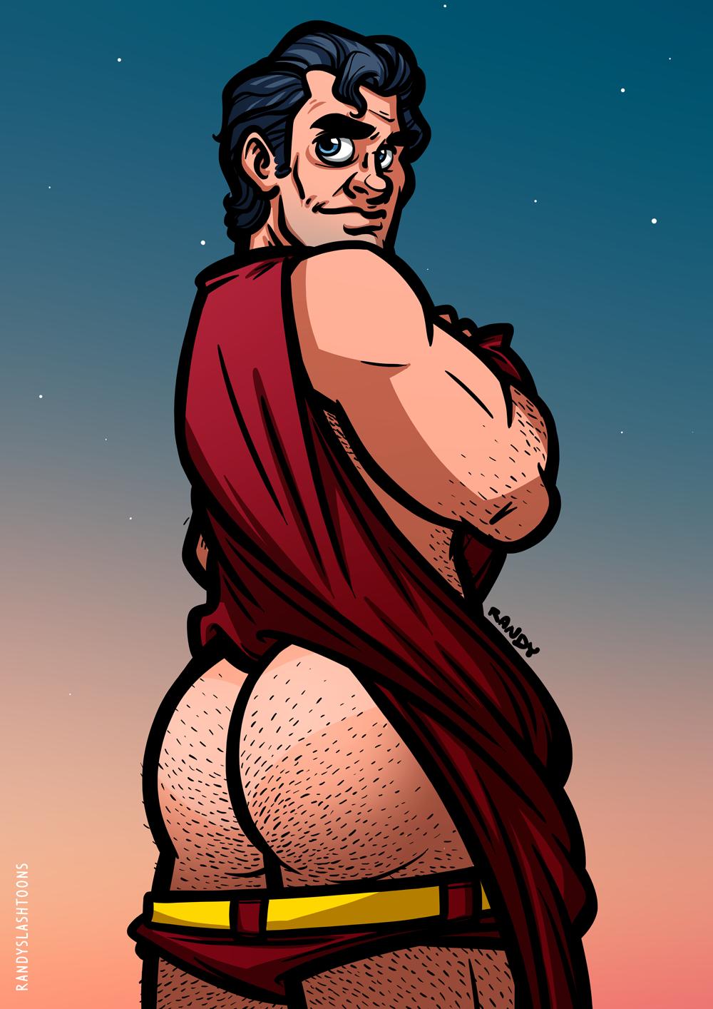 Superman Butt 30