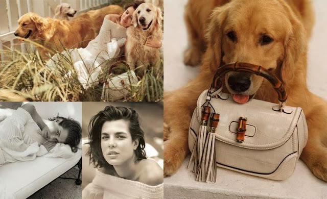 Charlotte Casiraghi for Gucci's 'Forever Now' Campaign