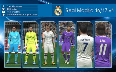Real Madrid 2016/17 GDB v1