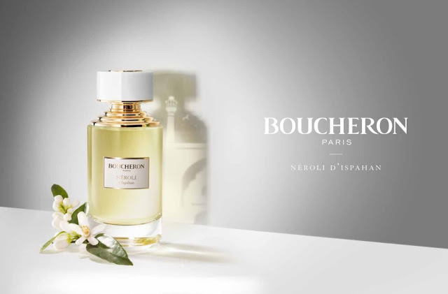 Reklama perfum Boucheron Collection Neroli d'Ispahan