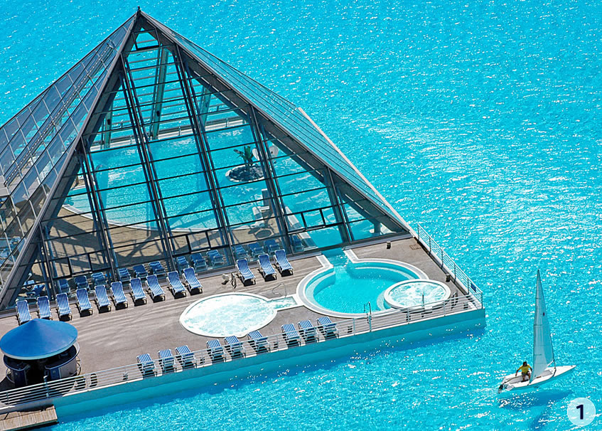 Justacargal world 39 s largest pool chile - Where is the worlds largest swimming pool ...