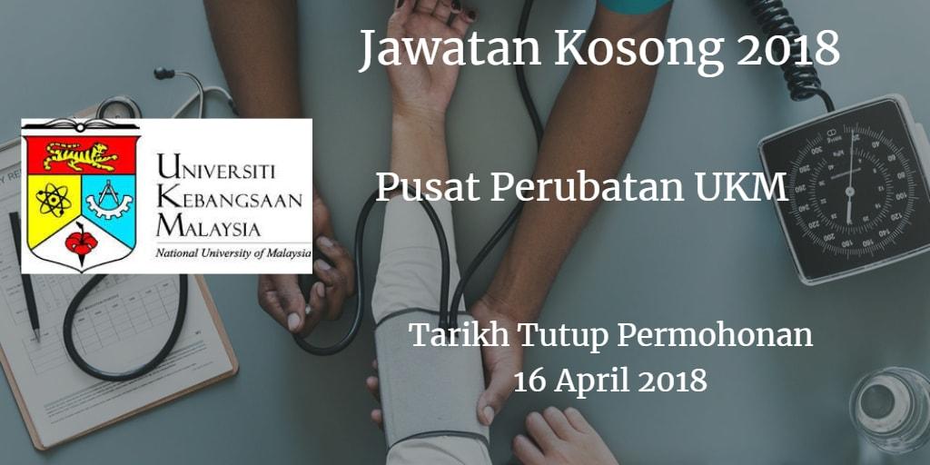 Jawatan Kosong PPUKM 16 April 2018