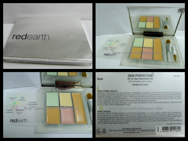 d95ccf2fba7 I bought the redearth Skin Perfection All-In-One Concealer Kit (Nude)  @RM29.50 after 50% discount. I bought this concealer kit @SaSa e@Curve.