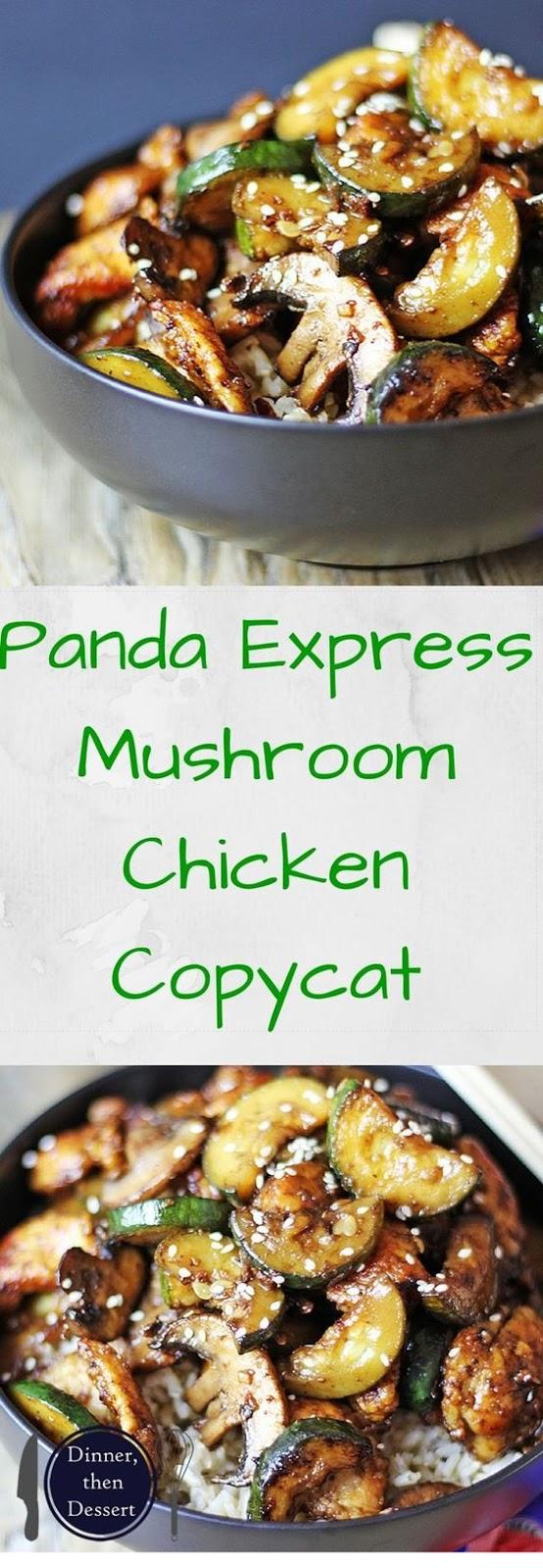 Panda Express Zucchini & Mushroom Chicken
