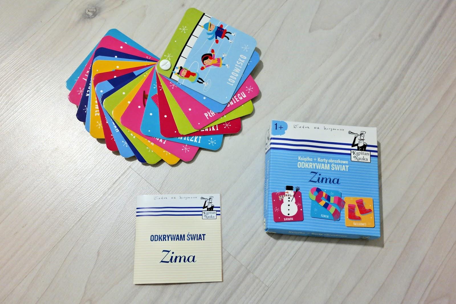 karty obrazkowe do nauki słów
