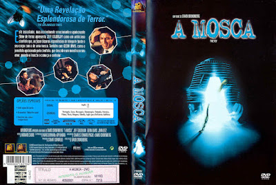 Filme A Mosca (The Fly) DVD Capa