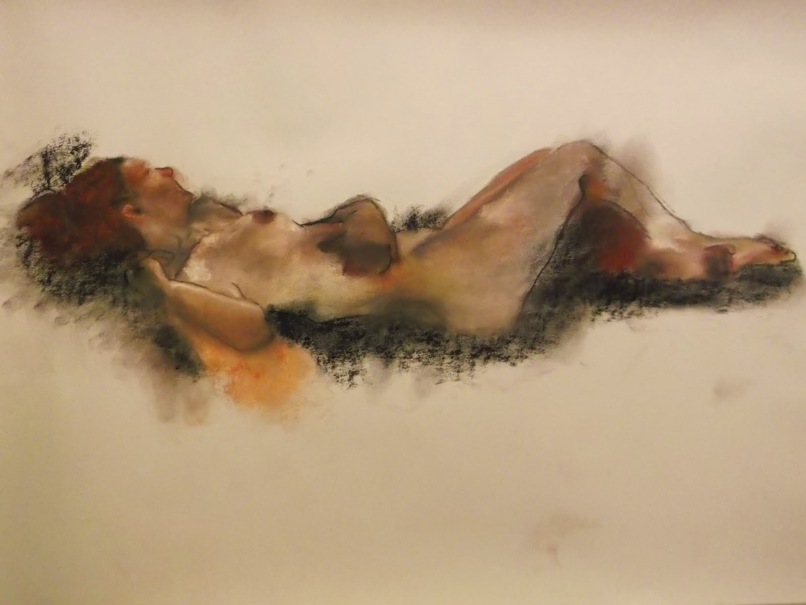 Reclined nude - original sold