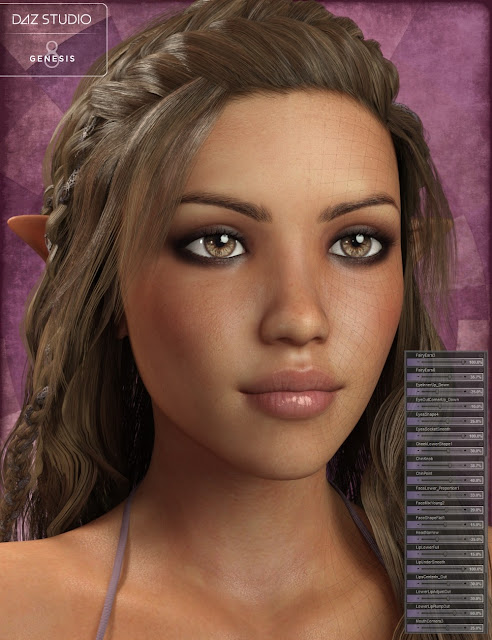 Genesis 8 Female Head Morph Resource Kit
