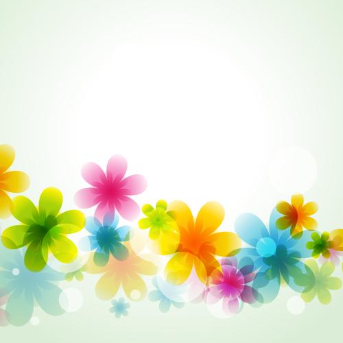 Fondos primaverales - Vector