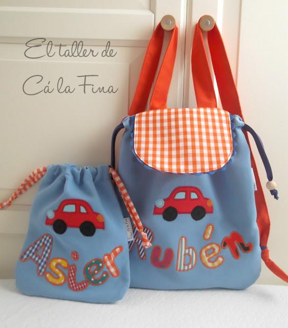 bebés-mochilas-guardería-bolsitas-merienda