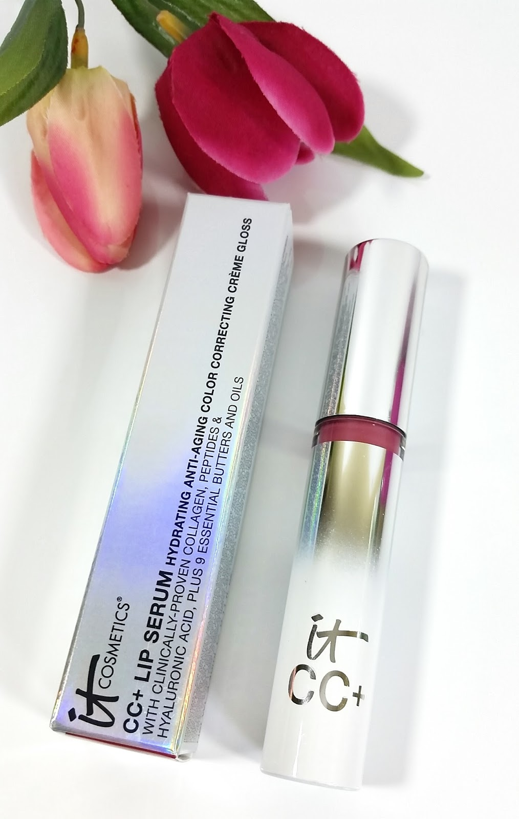 CC+ Lip Serum Hydrating Anti-Aging Color Correcting Creme Gloss by IT Cosmetics #11