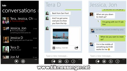 KiK Messenger para Windows Phone gratis