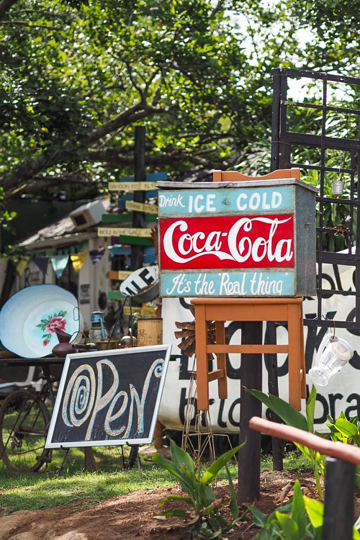 Homemade Coca Cola sign