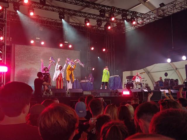 Superorganism, Open'er Festival 2018