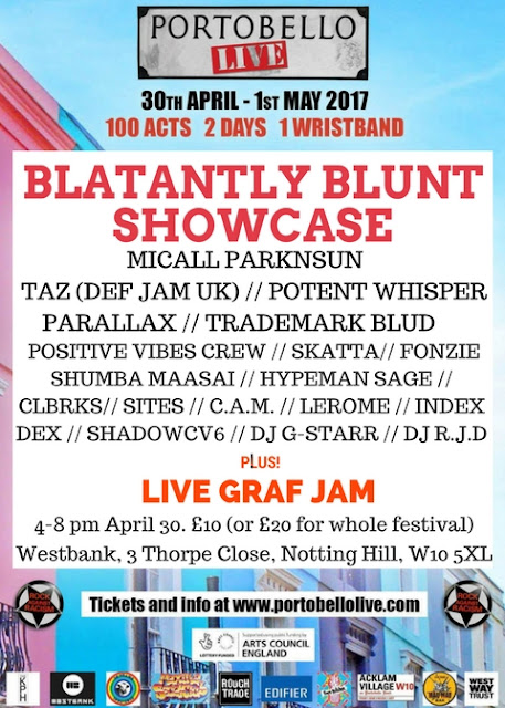 CATCH TAZ, MICALL PARKNSUN & MORE AT THE BLATANTLY BLUNT'S SHOWCASE!