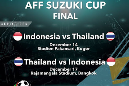 Final Piala AFF 2016 Indonesia vs Thailand