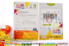 Kartu Undangan Seminar Soft Cover Alif