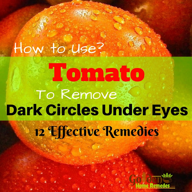 Tomato For Dark Circles, How To Get Rid Of Dark Circles, How To Remove Dark Circles, Home Remedies For Dark Circles, Dark Circle Home Remedies, Dark Circle Treatment, Dark Circle Remedies, How To Treat Dark Circles,