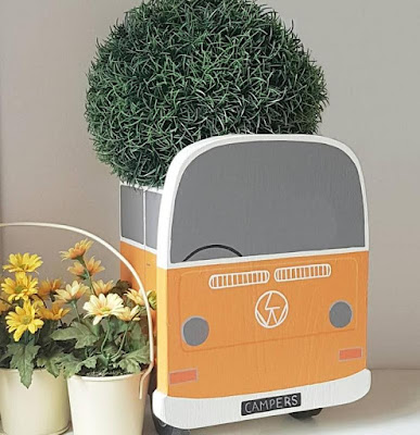 Campervan Plant Holder